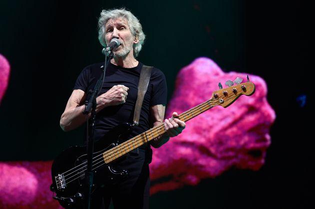 Roger Waters lors d'un concert à Mexico, au mois de novembre
