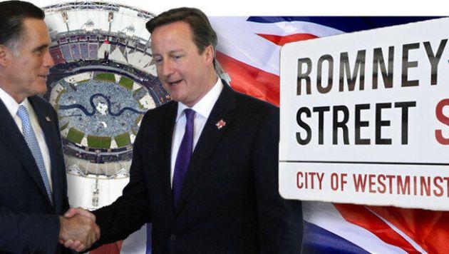 Mitt Romney has risked upsetting his British