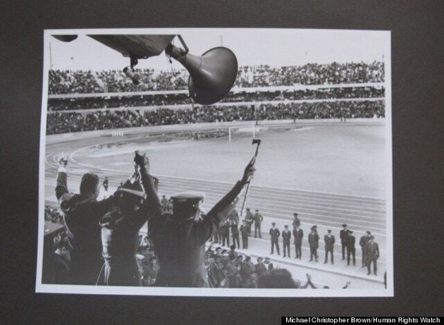 Colonel Gaddafi Photos Depicting Dictator's Tyrannical Reign Go On Display For First Time In London