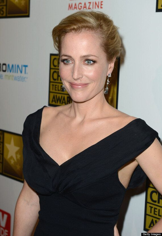 The X Files' Gillian Anderson Opens Up About Lesbian Affairs Following The Death Of Former