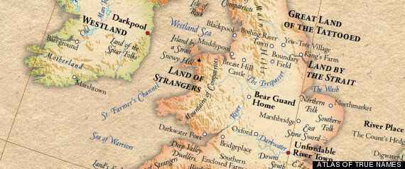 Amazing 'Atlas Of True Names' Is Our New Favourite Thing