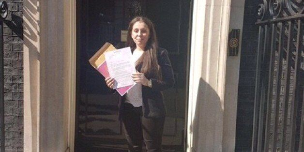 Young People Visit Downing Street To Urge The Prime Minister To Listen And Take