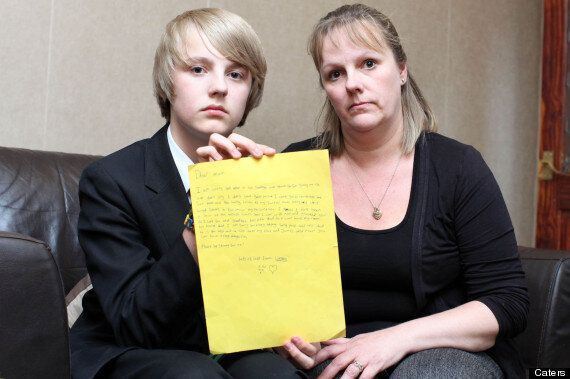 Wesley Walker, Student Leaves Mother Distraught With 'Suicide Note' School Asked Him To