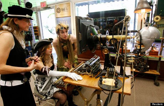 Steampunk Festival Transforms Waltham Massachusetts (PICTURES,