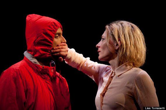 Cate Blanchett On Stage: 'Gross Und Klein'