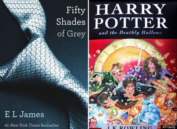 50 Shades Of Grey Trilogy Overtakes Harry Potter Series To Become Amazon UK's Biggest Selling