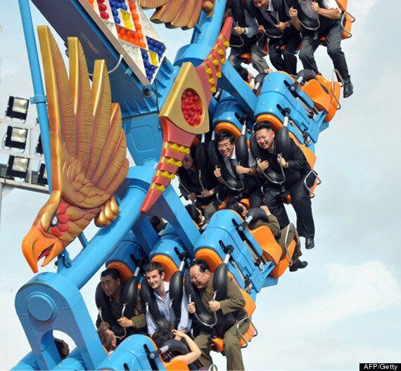 North Korean Leader Kim Jong-Un's Mystery Rollercoaster Companion Revealed As British Diplomat Barnaby...
