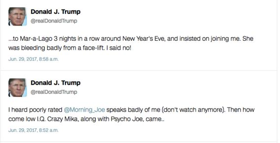 The Psychology Of Trump's Tweets: Signals From A Distressed