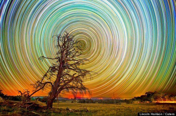 Lincoln Harrison's Swirling Stars Make Night Skies Even Prettier