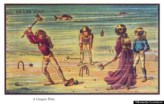 Jean-Marc Côté's France In The Year 2000 Cigarette Cards