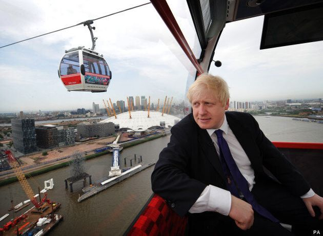 Emirates Air Line: Cable Car Spanning London's River Thames Opens To Public