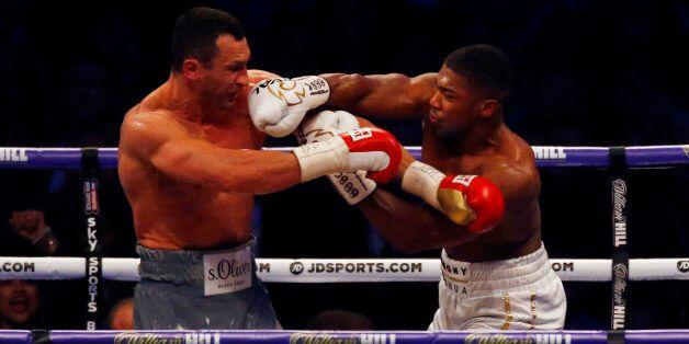 Joshua-Klitschko: The Agony And The