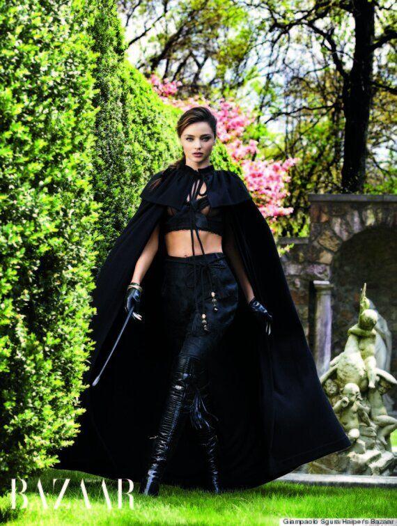 Miranda Kerr Eyes Singing Career As She Poses For Sexy Shoot In Harpers Bazaar