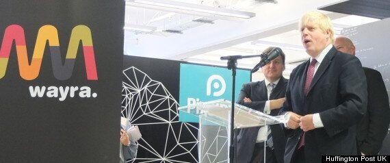 Boris Johnson Pitches Three App Ideas To London's Wayra Start-Up