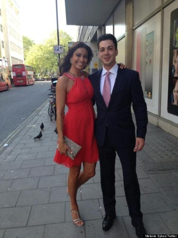 Melanie Sykes Exposes Veiny Arms As She Parties With Her Toy Boy