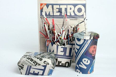 Trains, Trash And Tabloids: What Do You Do With Your Newspaper When You Are Done