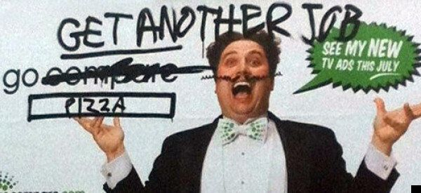New GoCompare Adverts Being Defaced By Public... Or Are