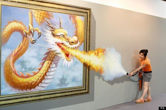 Art Attack: 2012 Magic Art Special Exhibition Of China Opens In