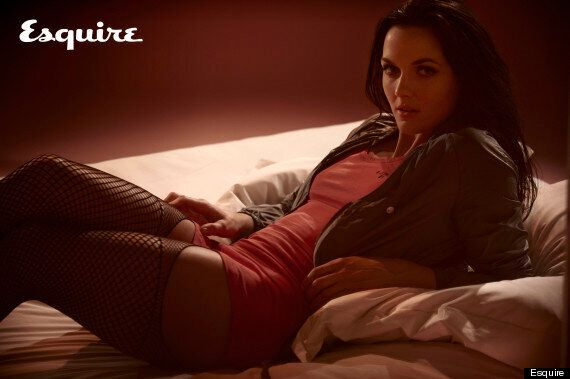 Victoria Pendleton Models For Esquire Ahead Of London 2012 Olympics