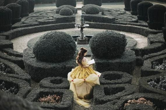 This Belle 'Beauty and the Beast' Cosplay Is