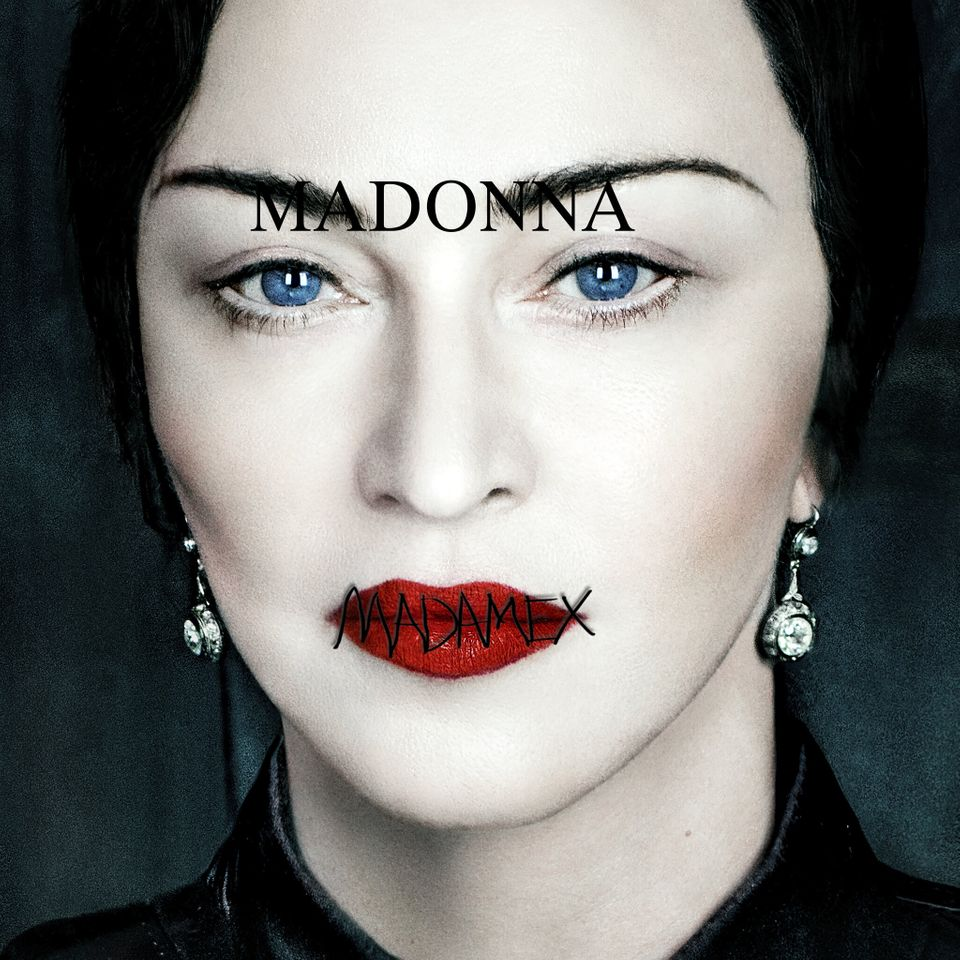The artwork for the standard edition of Madame