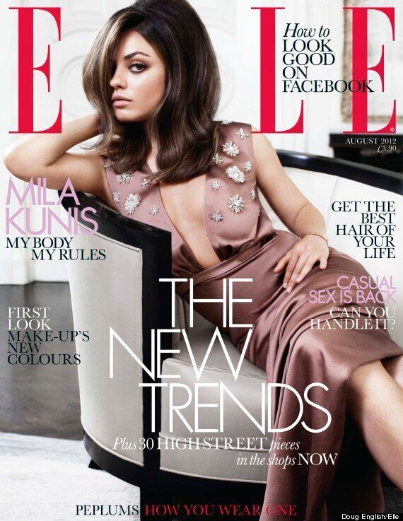 Mila Kunis Tells Elle About Trying To Date In Hollywood, Being Funny And Staying Focused...