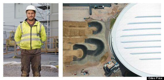 'Exhibition E20 12: Under Construction': Inspiring Shots Of The Olympic Site, And The People Who Built