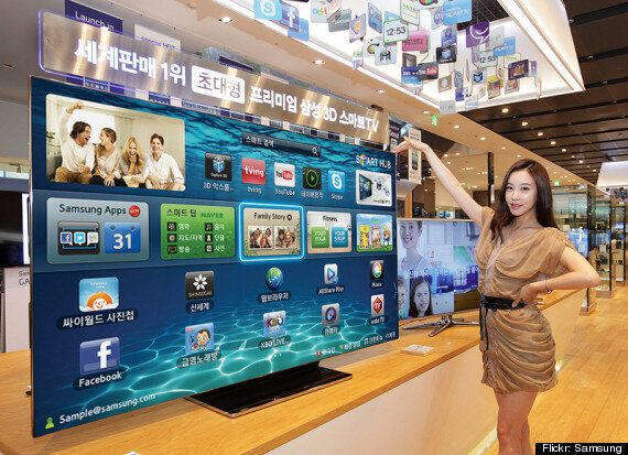 Absurdly Massive Samsung TV On Sale For