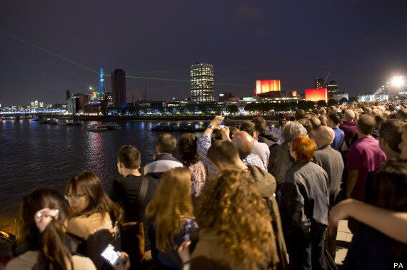The Shard: A Dazzling Light Show Or Just A Damp Squib?