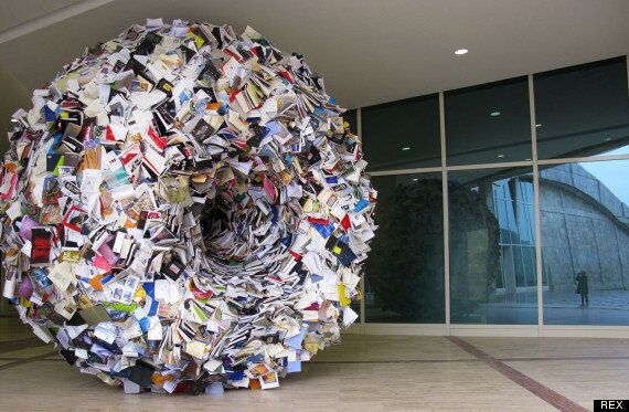 Brilliant 'Biografies' Sculptures By Alicia Martin Leaves Madrid Bursting With
