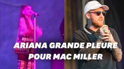 Ariana Grande fond en larmes en concert à Pittsburgh, ville natale de Mac