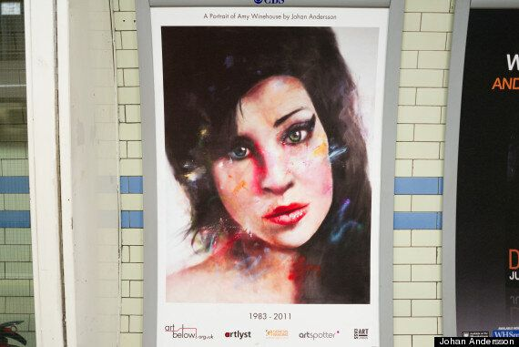 Remembering Amy Winehouse One Year After Her Death: Tribute By Johan Andresson Goes On Display At Camden...