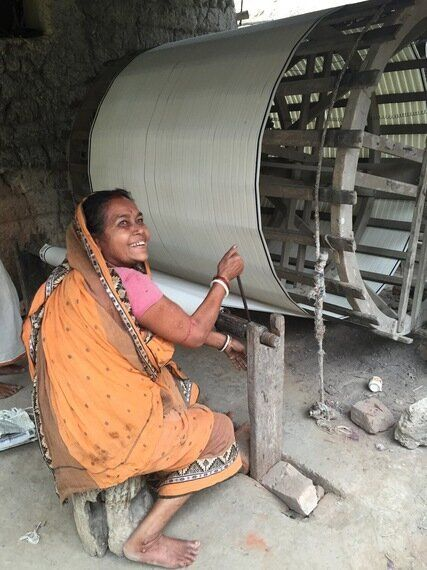 Building House Of Khadi - An Ethical Fashion
