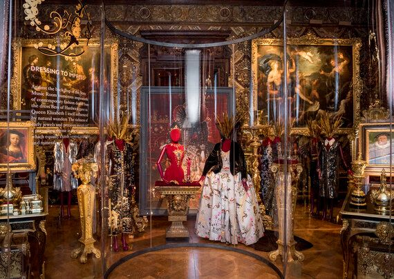 The Duke And Duchess Of Devonshire Choose Their Favourite Clothes From Five Centuries Of Fashion At