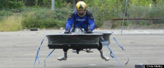 Man Builds Hover Bike: Can Fly At 173MPH And 3,000M Without A Pilot's