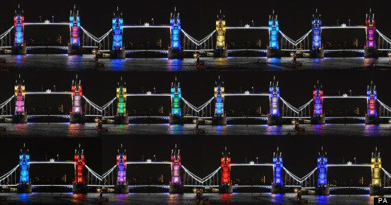 Diamond Jubilee Decorations: Tower Bridge Lights Up As London Gears Up To Host 'A Summer Like No