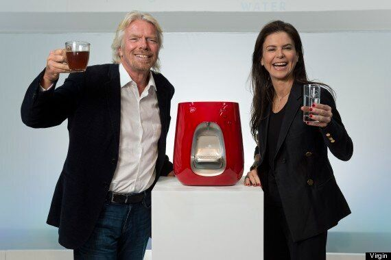 Virgin Pure: Richard Branson Introduces Subscription Water Purification System To