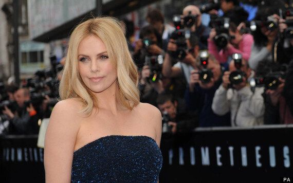 Charlize Theron, Michael Fassbender Lead Stars On The Blue Carpet For 'Prometheus' World Premiere