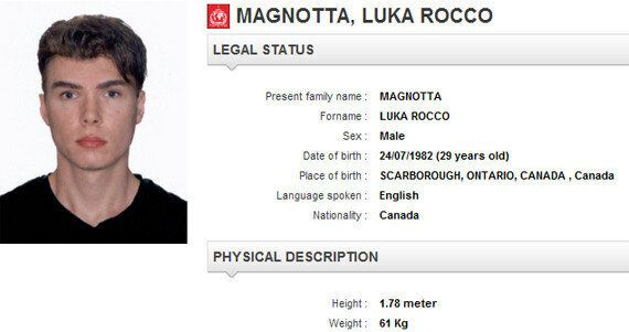 Luka Rocco Magnotta: Met Police Were Warned About Porn Star Six Months Before