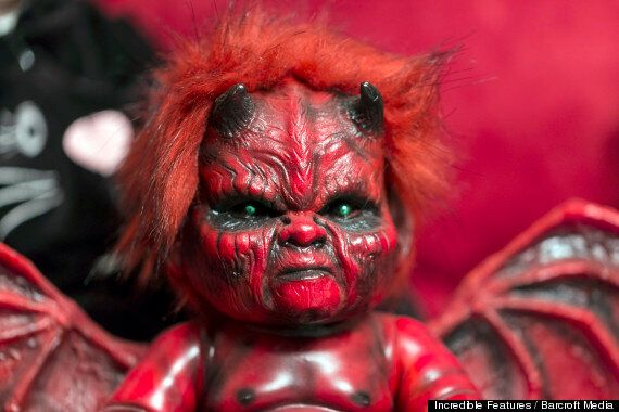 Marilyn Mansfield, Doll Collector Shows Off Blood-Stained Horror Toys
