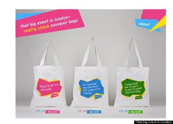 London 2012: Funny Olympic Bags Say 'They're All On Steroids', And 'It Only Took Me Three Hours To Get...