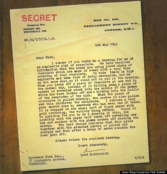 Nazi Plot To Kill Winston Churchill Through Explosive Chocolate
