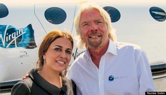 Virgin Galactic Founder Astronaut Namira Salim: 'We Should Send Politicians Into