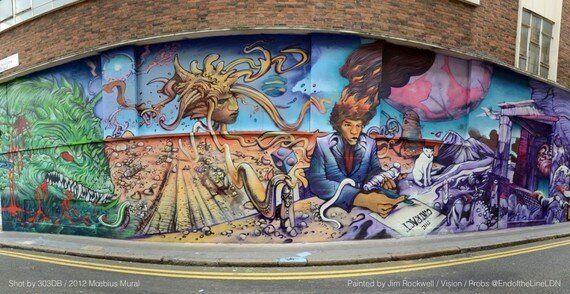 Moebius Tribute X EndoftheLine - Painted by Jim