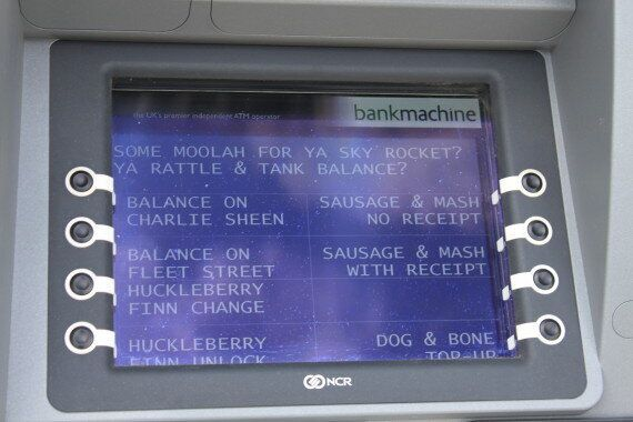 London 2012: 'Cockney' ATMs Installed In Bid To Thwart The Olympic Cashless
