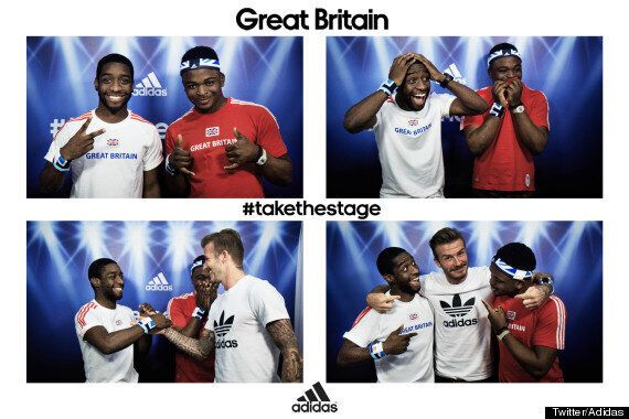 London Olympics 2012: David Beckham Shocks Fans By Dropping Into Westfield Photobooth