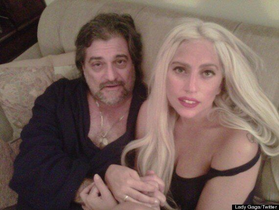 Lady Gaga Tweets Pics Of Her Two Favourite Men    Boyfriend