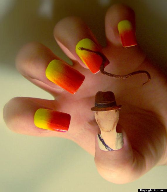 Nail Art Inspired By TV, Films And Music By Kayleigh