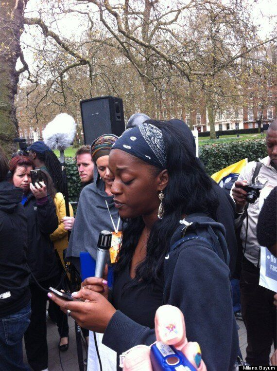 I Am Trayvon Martin: Protesters Hold Demonstration For Murdered 17-Year Old In London