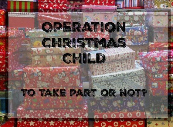 Christmas Shoe Box Appeal 2019.Eight Reasons Not To Take Part In A Shoe Box Appeal